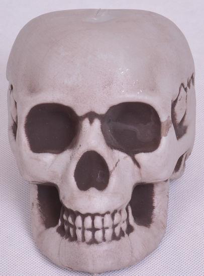 Image de accessoire décoratif Halloween tete de mort gris