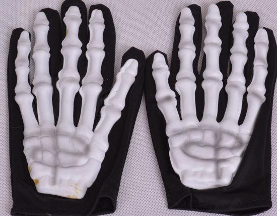 Image de Paire de gants squelette haloween