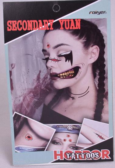 Image de set tatouage halloween