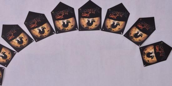 Image de Accessoire halloween guirlande en carton