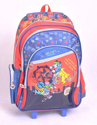 Image de sac a dos avec chariot Mickey