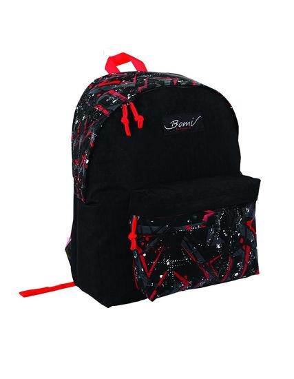 Image de sac à dos bomi SD01 PRINT BLACK