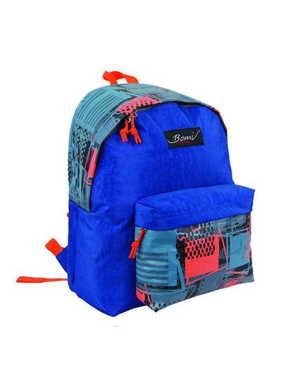 Image de sac à dos bomi SD01 PRINT BLUE