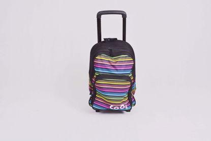 Image de sac a dos avec chariot cool school