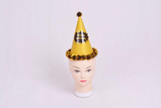 Image de Chapeau anniversaire  doré