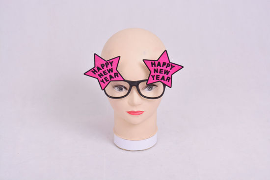 Image de Masque lunette happy new year  rose