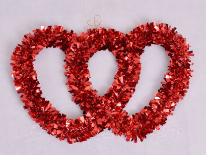 Image de Décoration noël cœur rouge