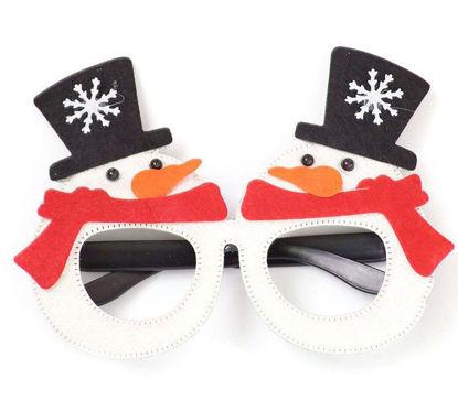 Image de Accessoire noël Lunette bon homme de neige