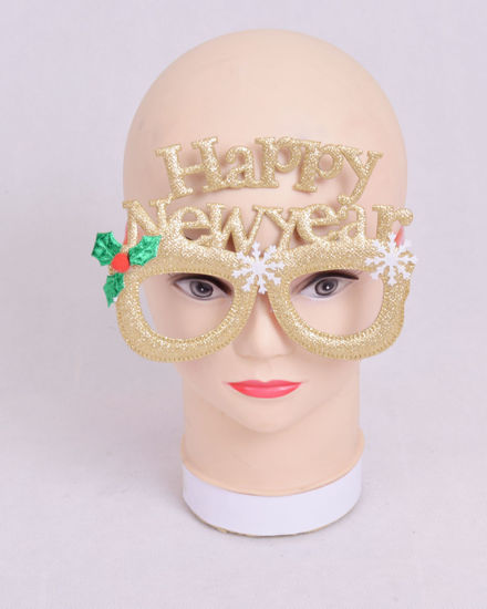 Image de Masque lunette happy new year  dore