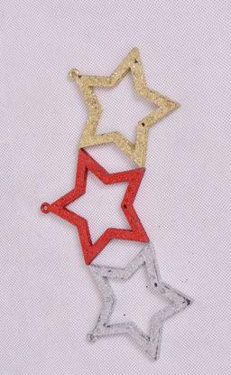 Image de Set  des étoiles décoration sapin noël
