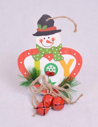 Image de Décoration de sapin bon homme de neige