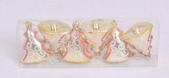 Image de Boite de 6 pièces décoration du sapin du noël