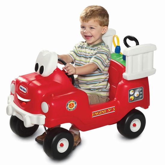 Image de Little Tikes Camion de pompiers de pulvérisation et de sauvetage
