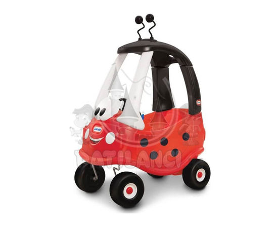 Image de Little Tikes Outdoor Cosy Coupe- Ladybird