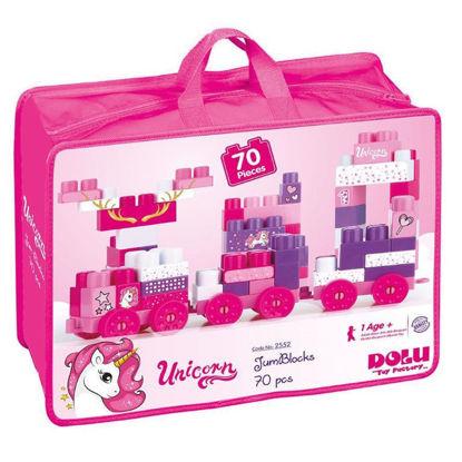 Image de Unicorn Jum Blocks 70 Pcs In Bag – 2552
