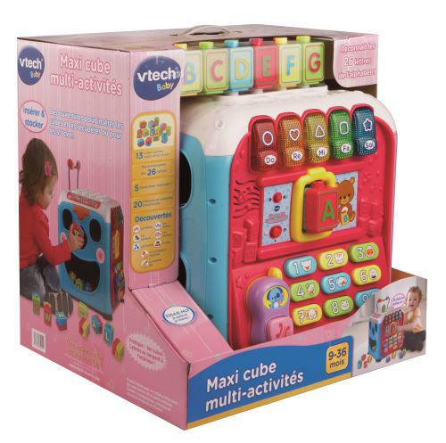 Image de Vtech Maxi cube multi-activités rose