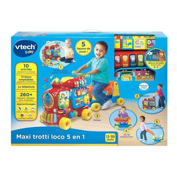 Image de Vtech Maxi trotti loco 5 en 1 rouge