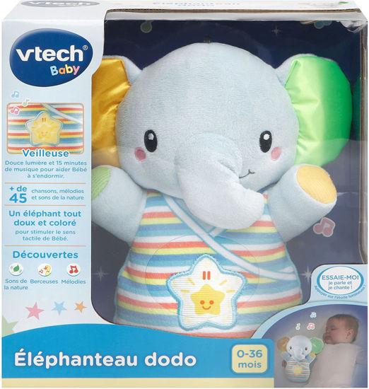 Image de Vtech Elephanteau dodo bleu