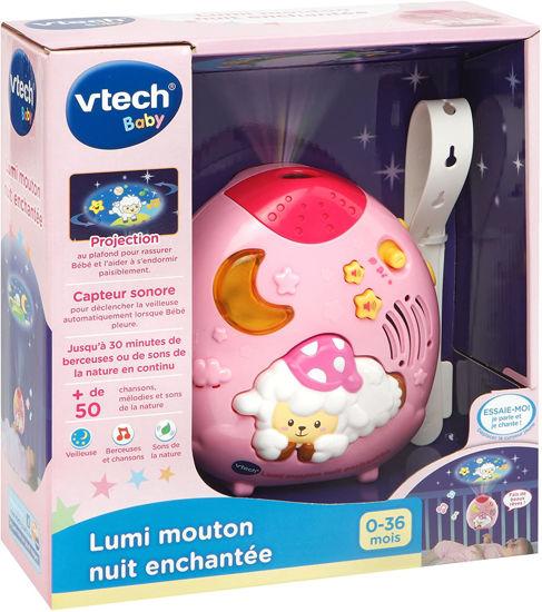 Image de Vtech Lumi mouton nuit enchantée rose