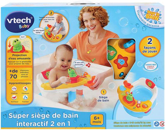 Image de Vtech Super siège de bain interactif 2 en 1