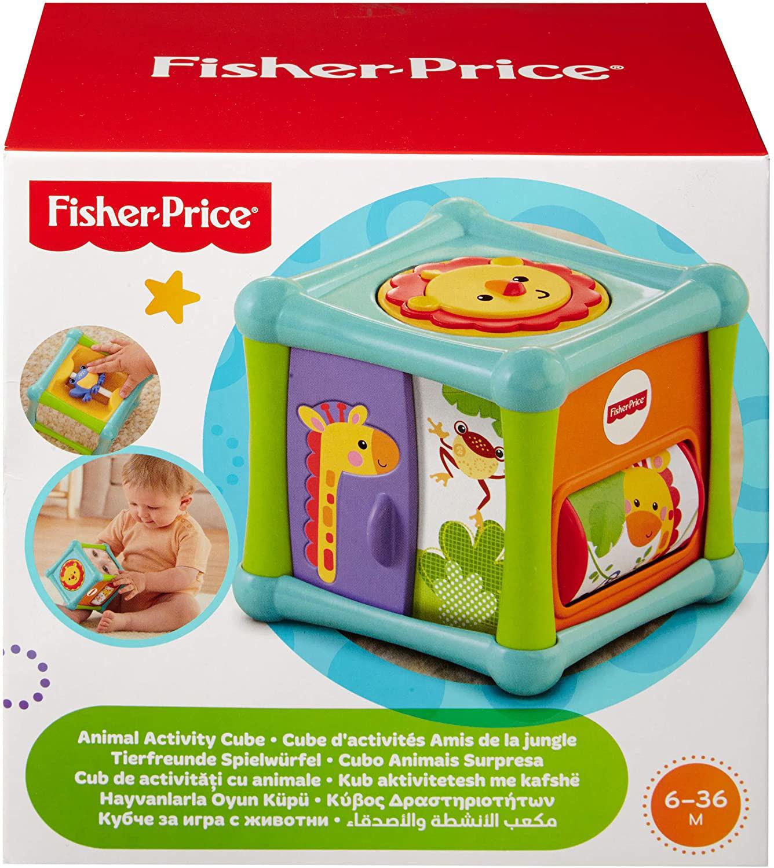 Image de Fisher Price Cube d'activité amis de la jungle a 5 cotes