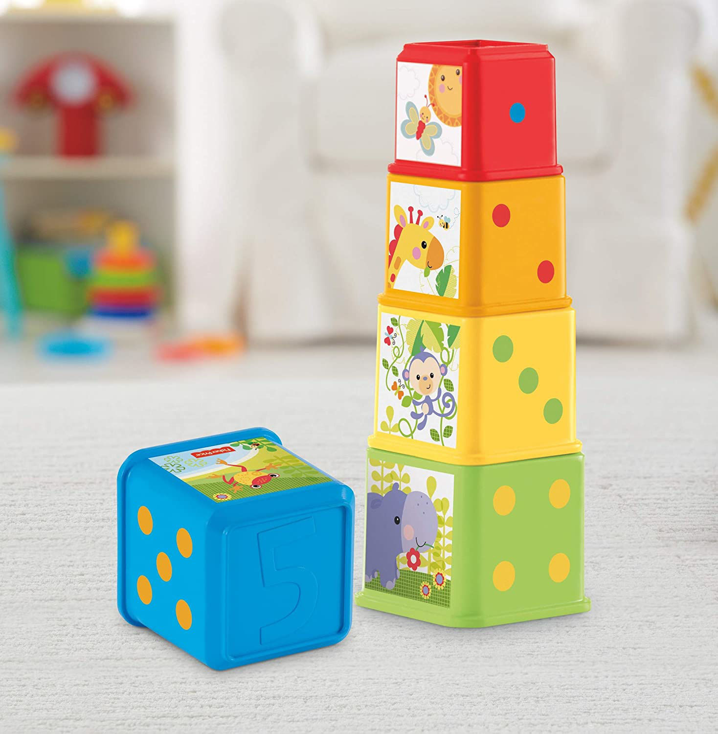 Image de Fisher-Price Cubes Découvertes