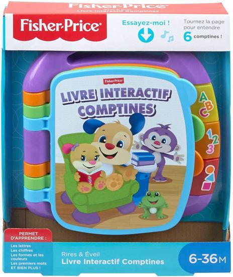 Image de Fisher-Price Livre Interactif Comptines