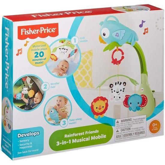 Image de Fisher Price mobile 3 en 1 RainForest Friends