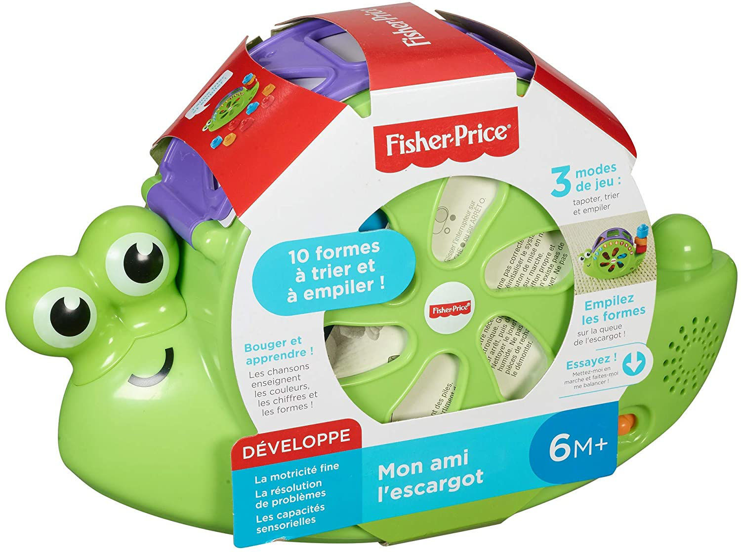 Image de Fisher-Price Mon Ami l'Escargot