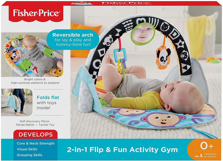 Image de Fisher-Price  2-in-1 Flip & Fun Activity Gym