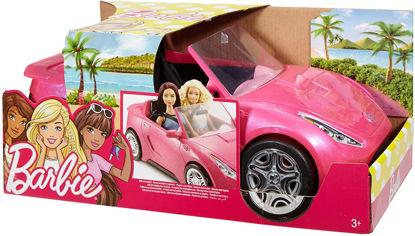 Image de Barbie Voiture Cabriolet Rose pour poupée