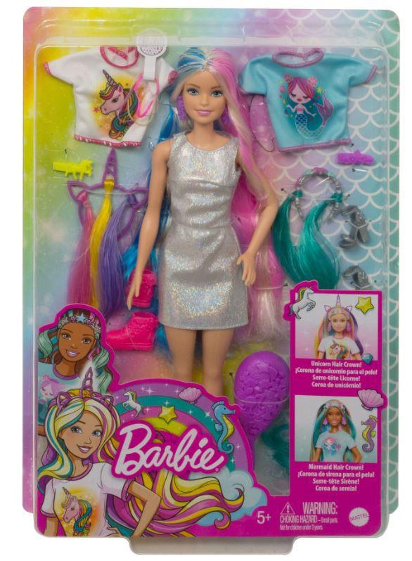 Image de Barbie poupée adolescente Cheveux de fantaisie
