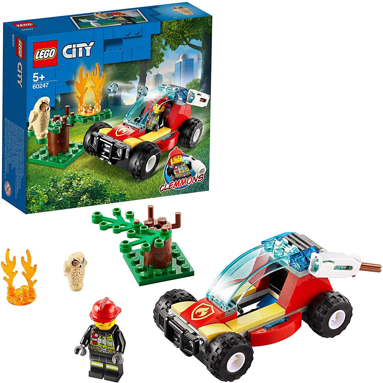 Image de LEGO City Le feu de forêt avec figurine de pompier  60247