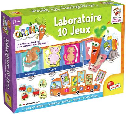 Image de Lisciani Laboratoire 10 jeux  F27934