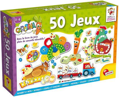 Image de Lisciani Coffret des 50 Jeux FR66186