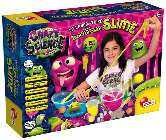 Image de Le laboratoire de la doctoresse slime FR 75102