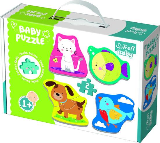 Image de TREFL Puzzle baby classic animaux 36074