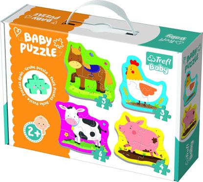 Image de TREFL Puzzle baby classic animaux 36070