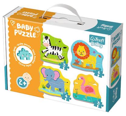 Image de TREFL Puzzle baby classic animaux sauvages 36073