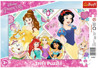Image de TREFL Puzzle 15 cadre disney 31352