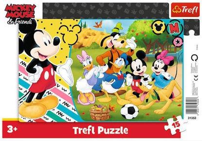 Image de TREFL Puzzle 15 cadres mickey 31353