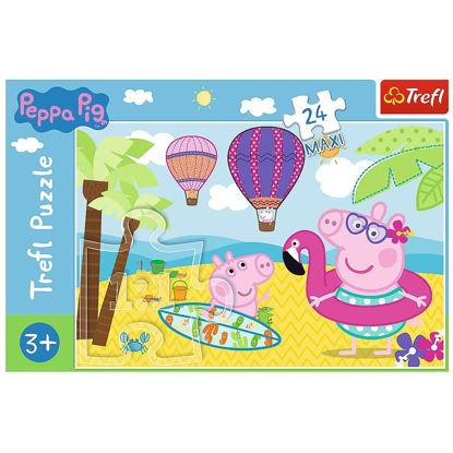 Image de TREFL Puzzle 24 maxi peppa pig 14293