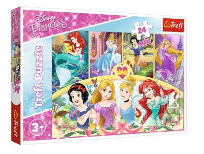 Image de TREFL Puzzle 24 maxi princesse 14294