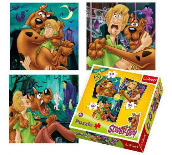 Image de Trefl Puzzle 3 en 1Scooby Doo 34145