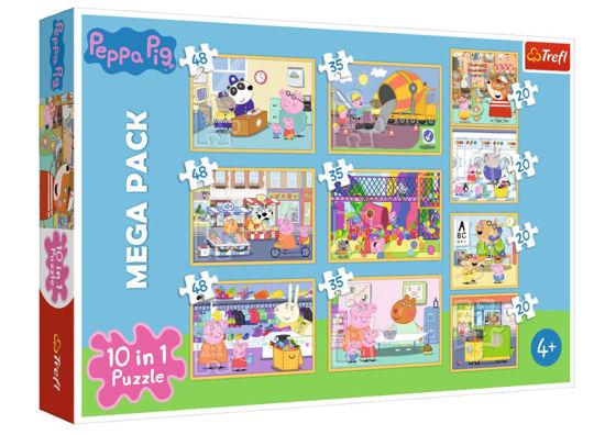 Image de Trefl Puzzle 10 en 1 Pepa Pig 90358