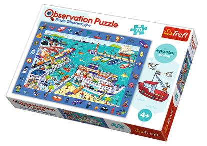 Image de TREFL Puzzle observation la port 15536