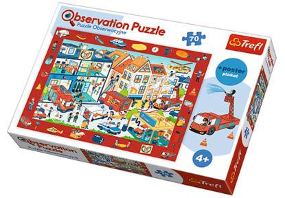 Image de TREFL Puzzle observation les pompiers 15537