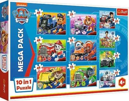 Image de TreflPuzzle  Paw patrol 10 in 1 90355 90355