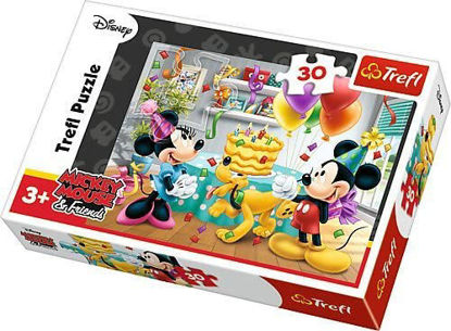 Image de Trefl- Puzzle Mickey and Minnie gâteau d'anniversaire18211
