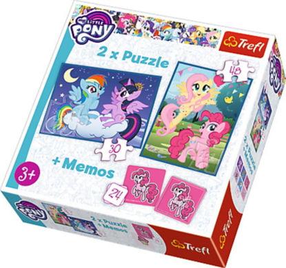 Image de TREFL Puzzle 2en1 + memo 90601